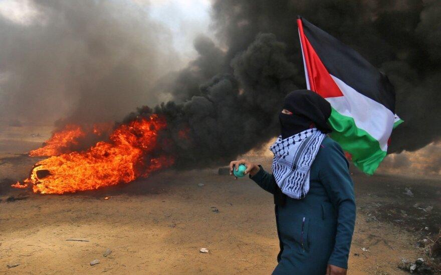 """Gazos Ruože šeši žmonės nuteisti pakarti už """"kolaboravimą su Izraeliu"""""""