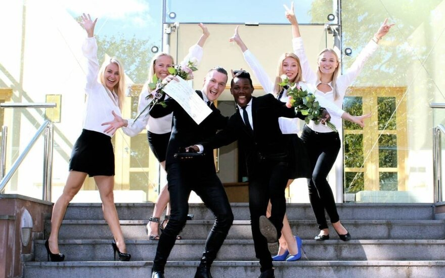Siim and Christopher got married in Estonia. Photo: British Embassy Tallinn