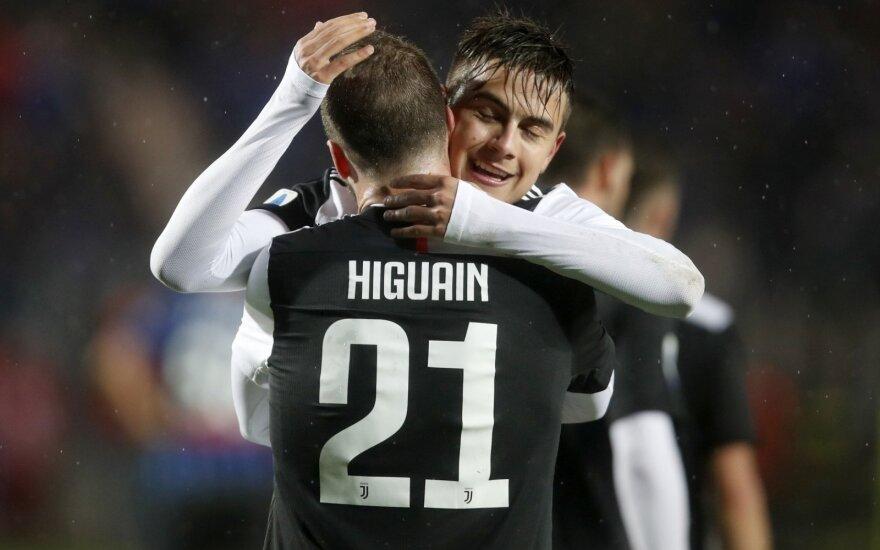 Paulo Dybala ir Gonzalo Higuainas