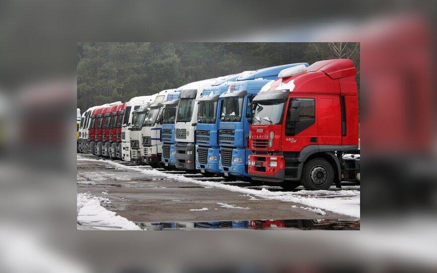 Sunkvežimių prekybos dugnas