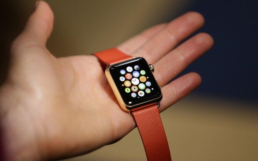 """Apple Watch Edition"" išmanusis laikrodis"