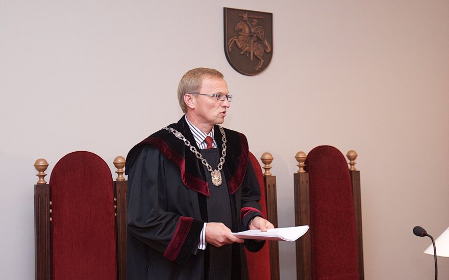 Judge Algimantas Valantinas