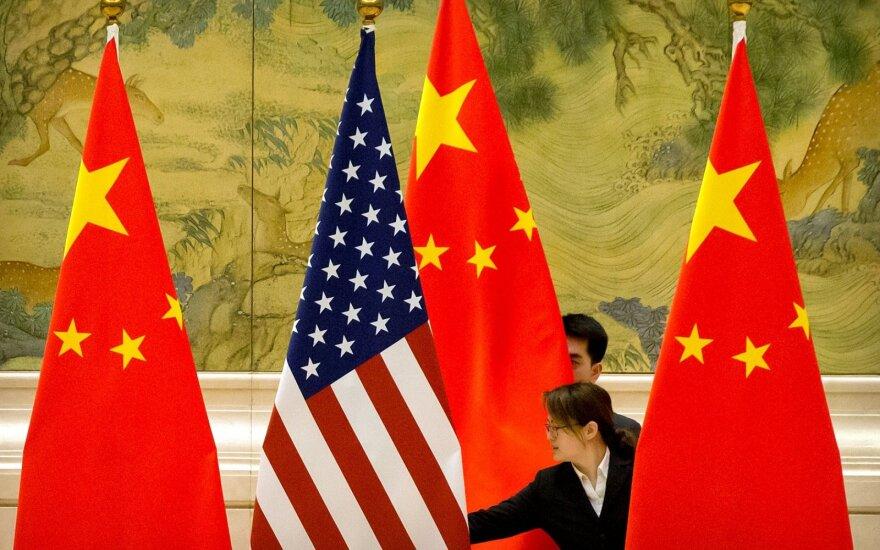 JAV ir Kinija