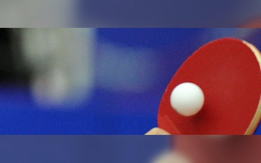 Europos veteranų stalo teniso čempionate lietuvis iškovojo bronzos medalį