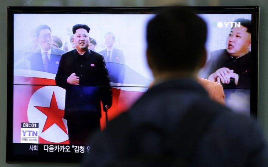 Šiaurės Korėja: imsimės kontratakos prieš visą JAV teritoriją