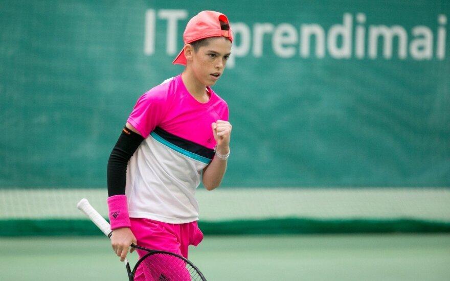 """""""Tennis Europe"""" jaunių teniso turnyras"""