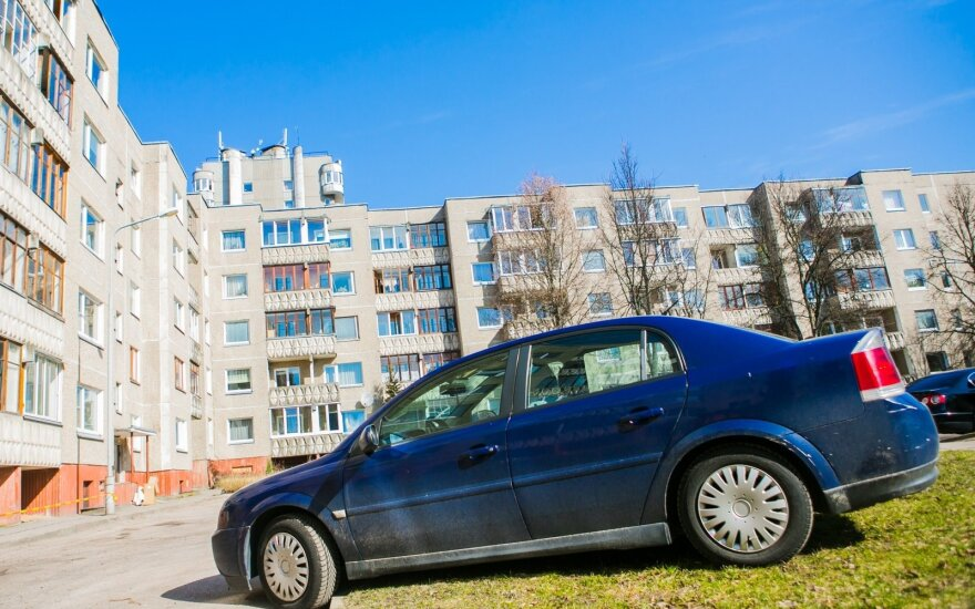 Apartment rents in Vilnius have jumped by a third in three years