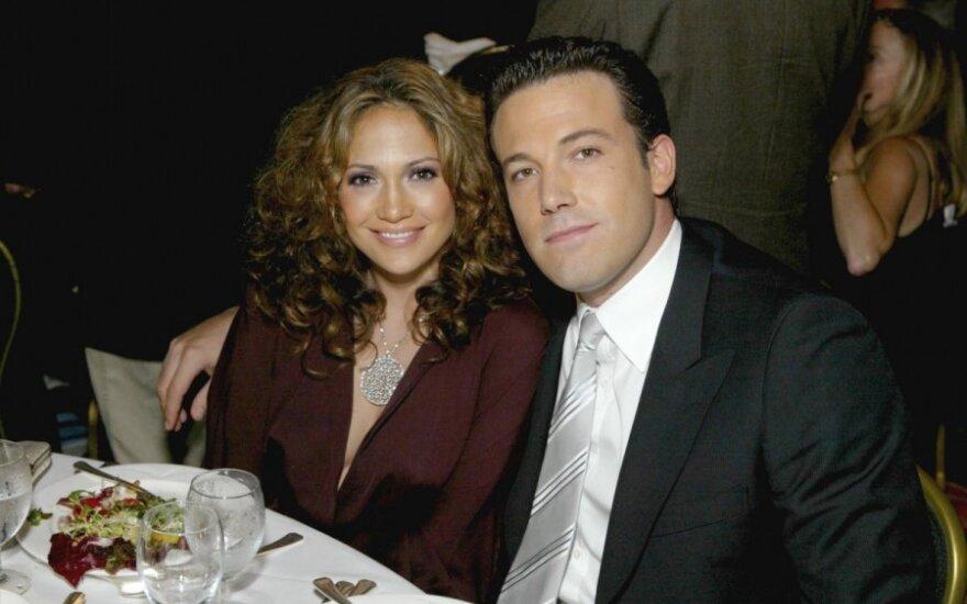 Benas Affleckas ir Jennifer Lopez
