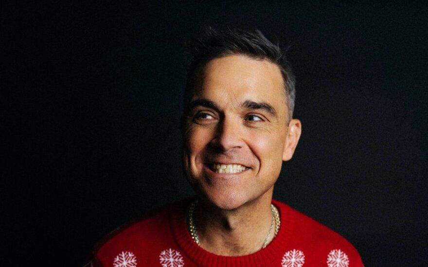 Pop muzikos superžvaigždė Robbie Williamsas