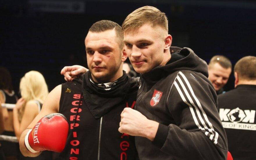 Sergejus Maslabojevas ir Dorinas Robertas