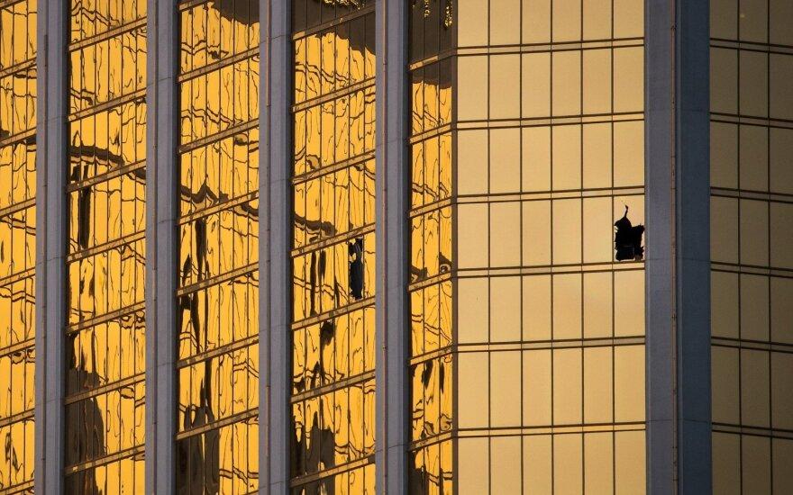Žudynės Las Vegase – vis mįslingesnės: tai išmanančio planuotojo darbas