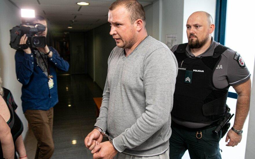Vilniuje teismas leido suimti nepilnametės mergaitės išžaginimu įtariamą vyrą