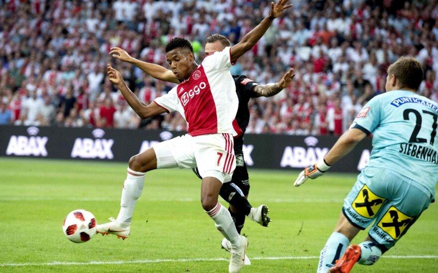 """UEFA Čempionų lygos atrankoje – nulinių paradas ir """"Ajax"""" bei """"Celtic"""" pergalės"""