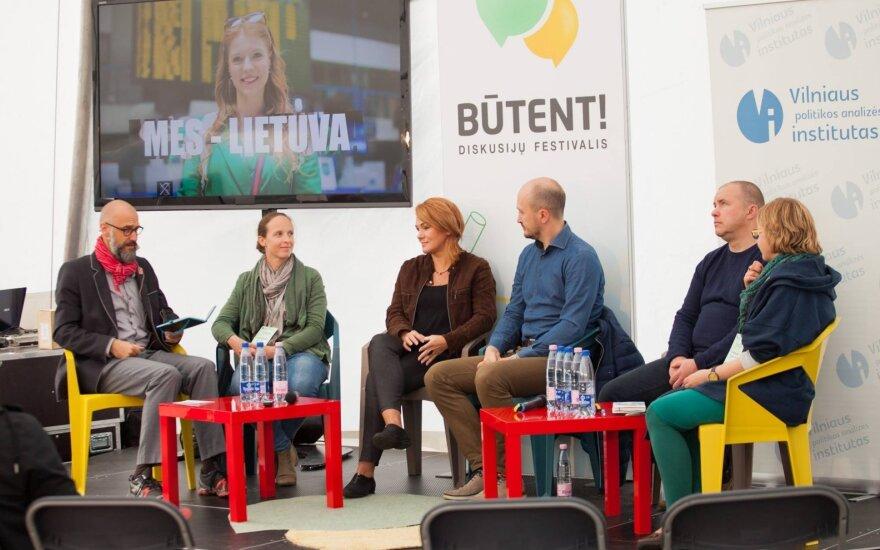 Diskusijų festivalis Būtent.