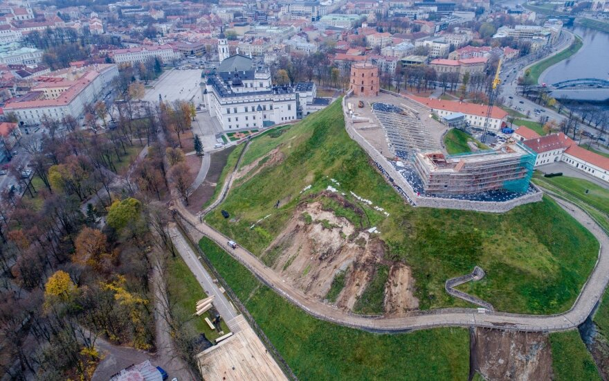 Pasakė, kiek bus uždaryta Gedimino pilis ir kas bus su darbuotojais
