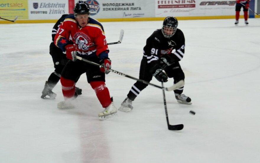 """Lietuvos ledo ritulio čempionatas: """"Lokiai– Poseidonas"""" - """"Hockey Punks"""""""