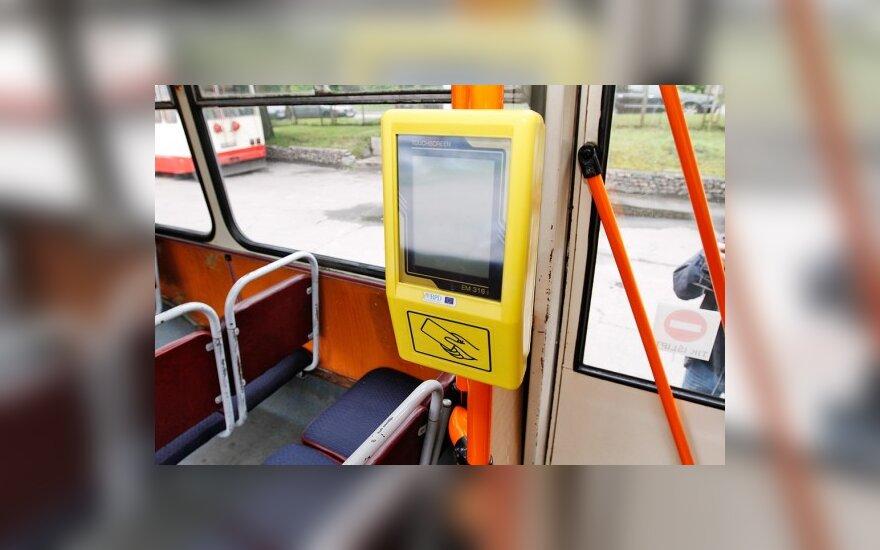 Šią savaitę Vilniaus viešajame transporte pradės veikti vienkartinio e-bilieto sistema