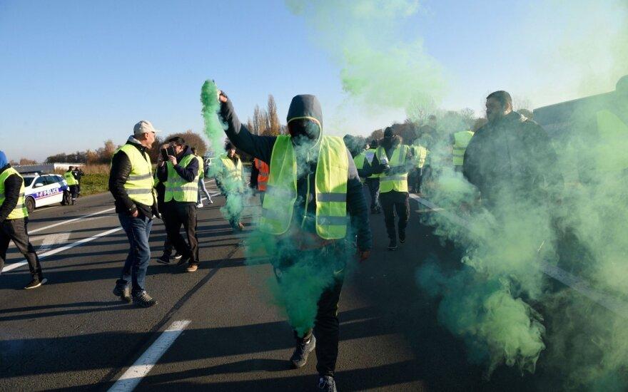 Protestas Prancūzijoje