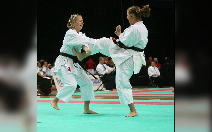 Tradicinio karatė meistrai dalijosi Lietuvos čempionato medalius
