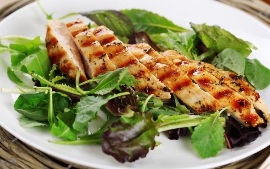 Lietuviams skaniausi – ant grilio kepti paukštienos patiekalai