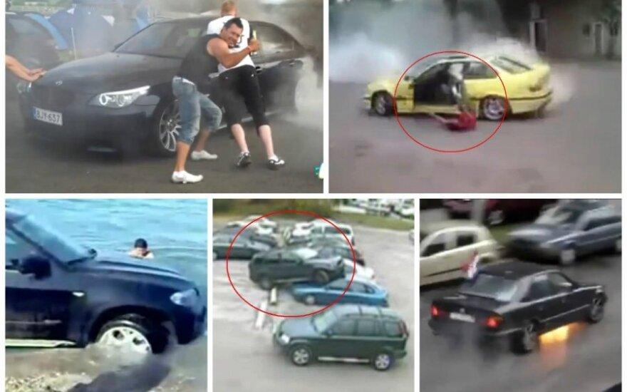 BMW vairuotojų triukai