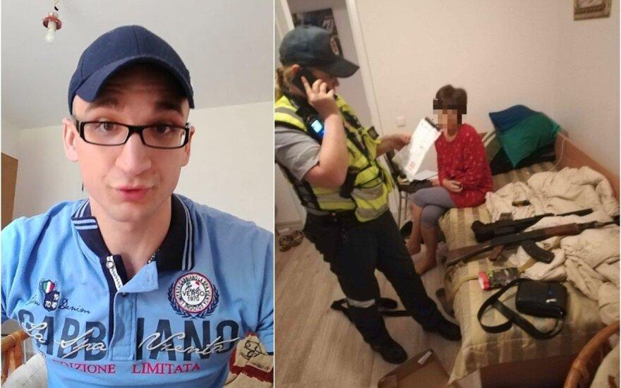 Lauryno Maybach namuose lankėsi policija