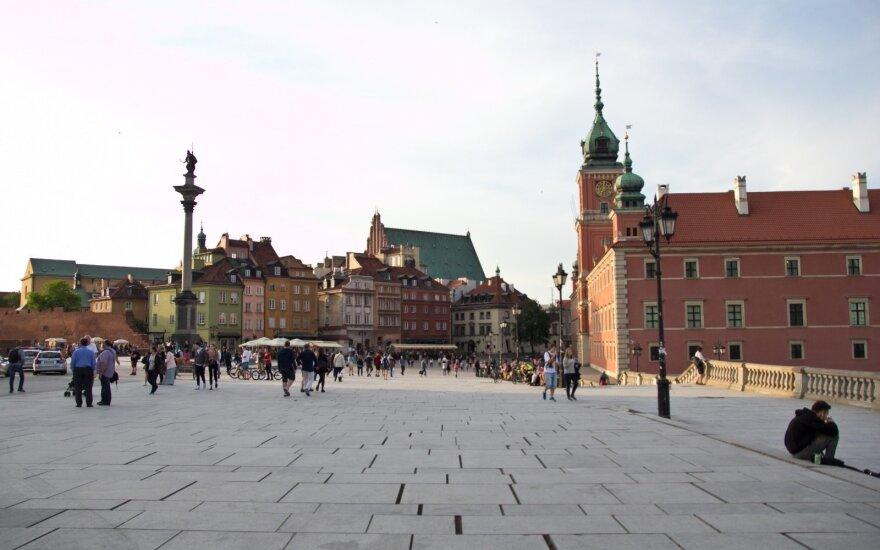 Varšuvoje pagerbti lenkai, gelbėję žydus per Holokaustą