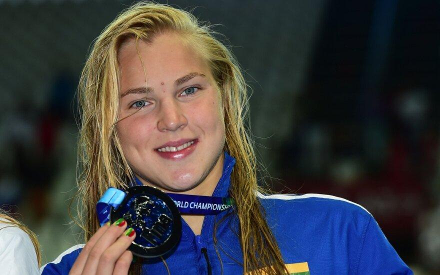 Rūta Meilutytė. Plaukimo karjeros akimirkos
