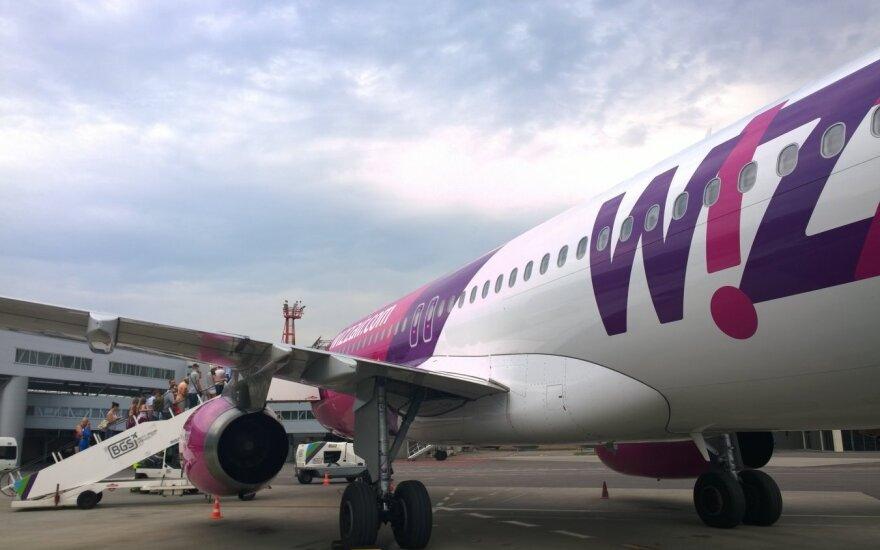 """""""Wizz Air"""" lietuvius skraidins į kalnus"""