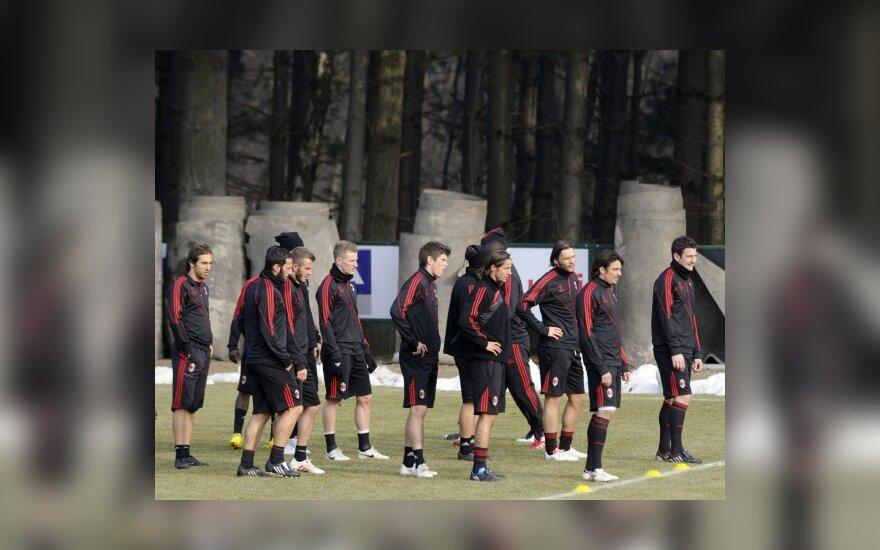"""""""AC Milan"""" klubo futbolininkai"""