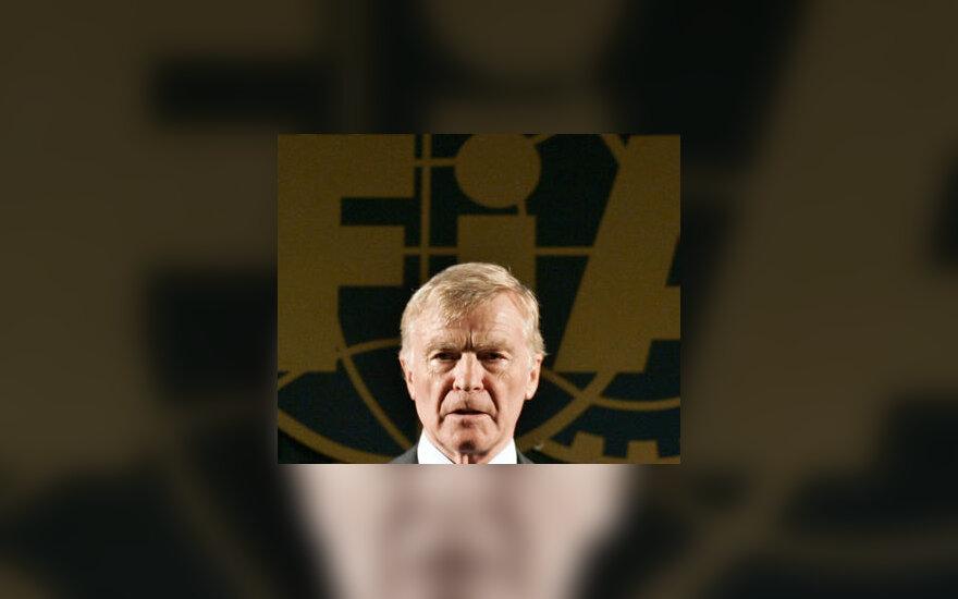 FIA prezidentas Max Mosley