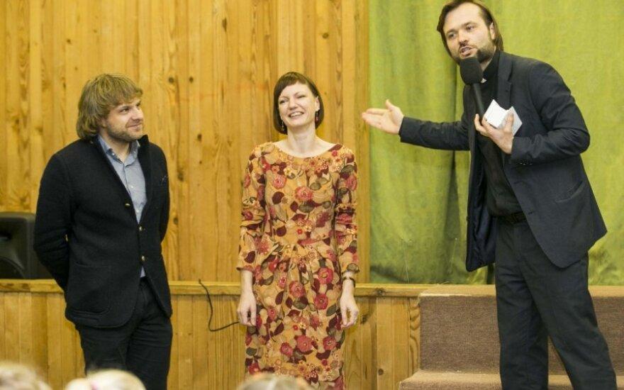 Benediktas Vanagas, Monika Garbačiauskaitė-Budrienė ir Algirdas Toliatas