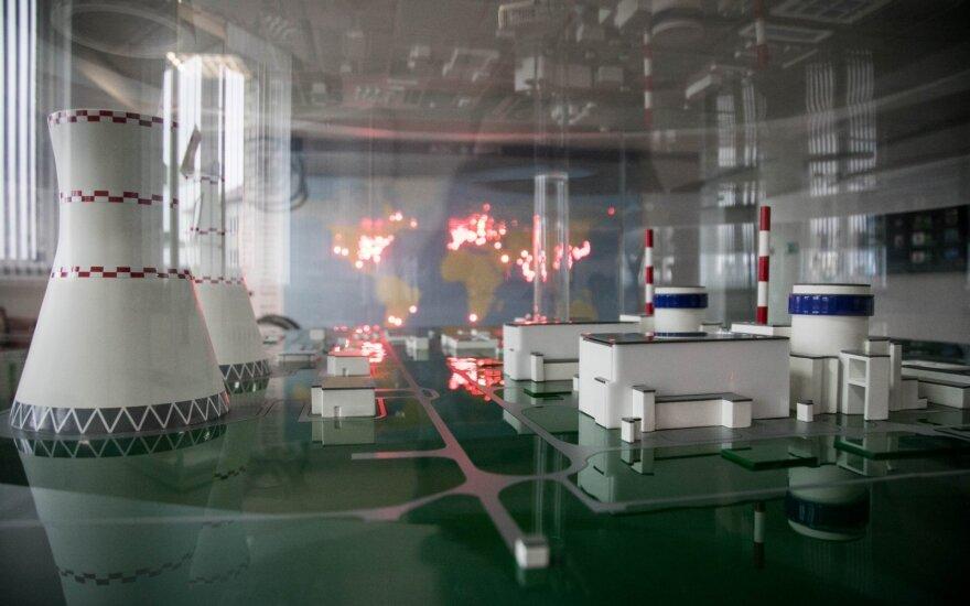 Astravo AE nuo sekmadienio nebegamina elektros: sprogo transformatoriai