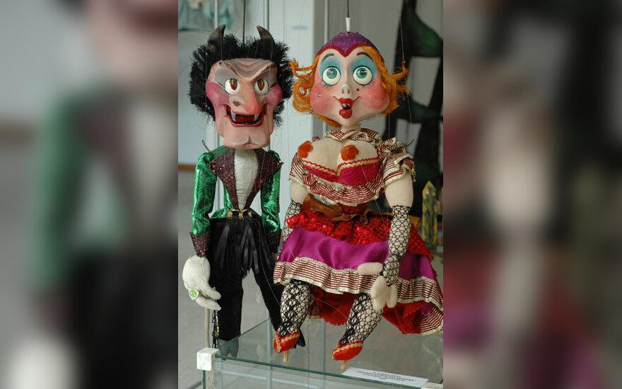 Panevėžio Lėlių vežimo teatro paroda