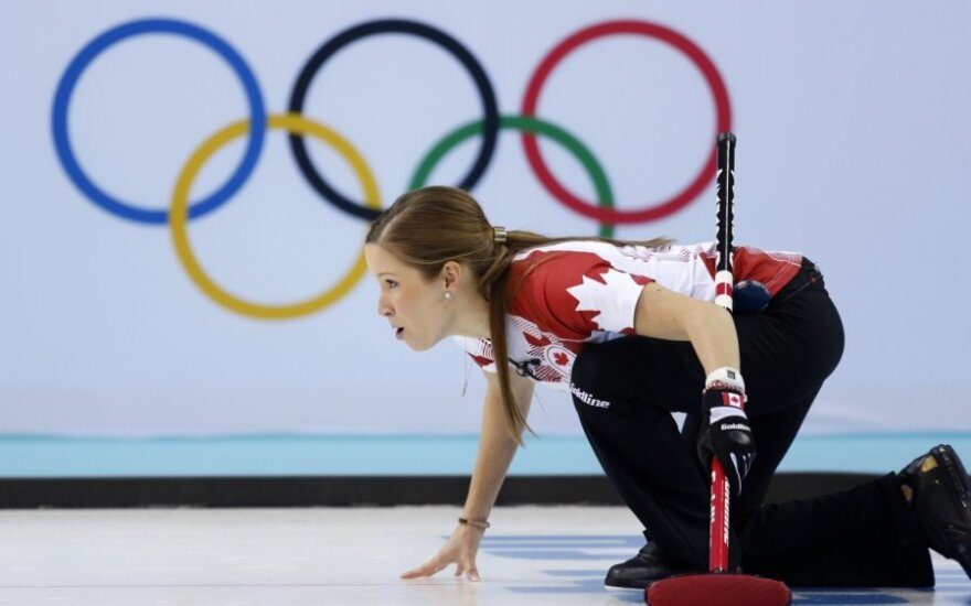 Kanados akmenslydininkė Kaitlyn Lawes