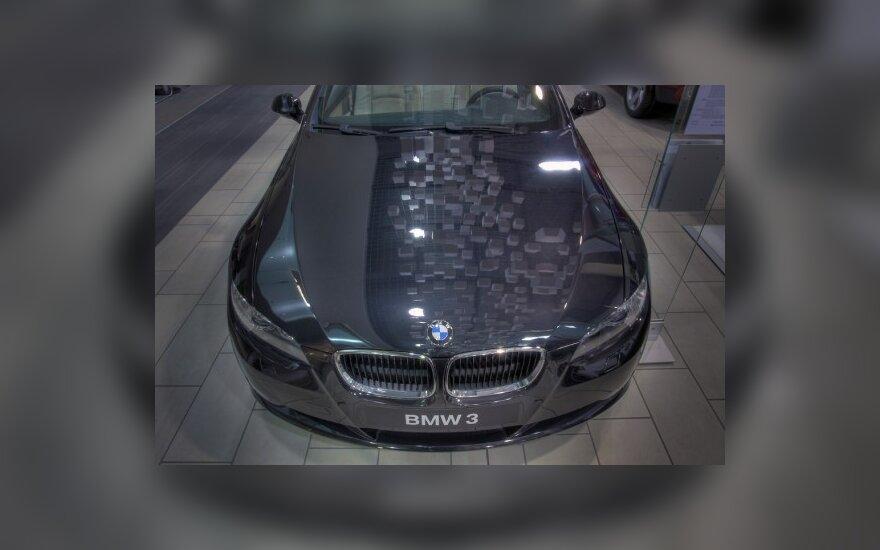BMW išlieka populiariausiais prestižiniais automobiliais Lietuvoje