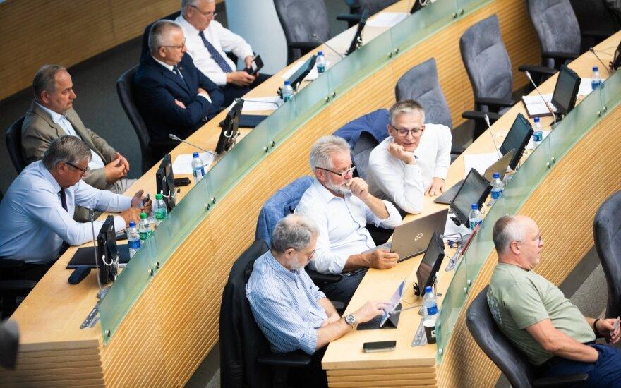 Seime kelią skinasi prieštaringai vertinama pataisa: rinkimai gali atrodyti kitaip