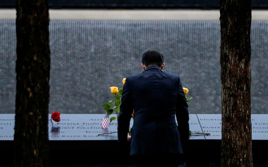 Niujorkas gedi Rugsėjo 11-osios aukų