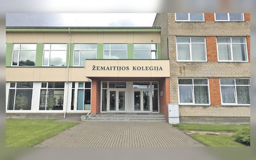 Buvę Žemaitijos kolegijos centriniai rūmai liko tušti