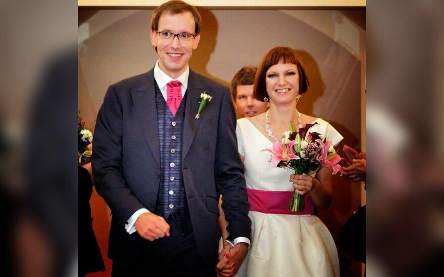 Rytis Budrys ir Monika Garbačiauskaitė