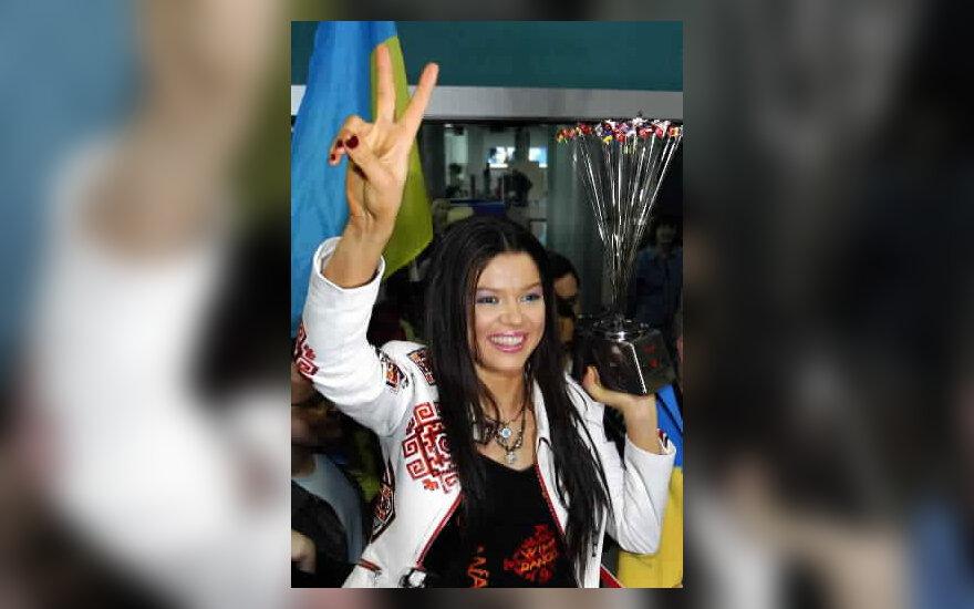 """2004 m. """"Eurovizijos"""" nugalėtoja Ruslana"""