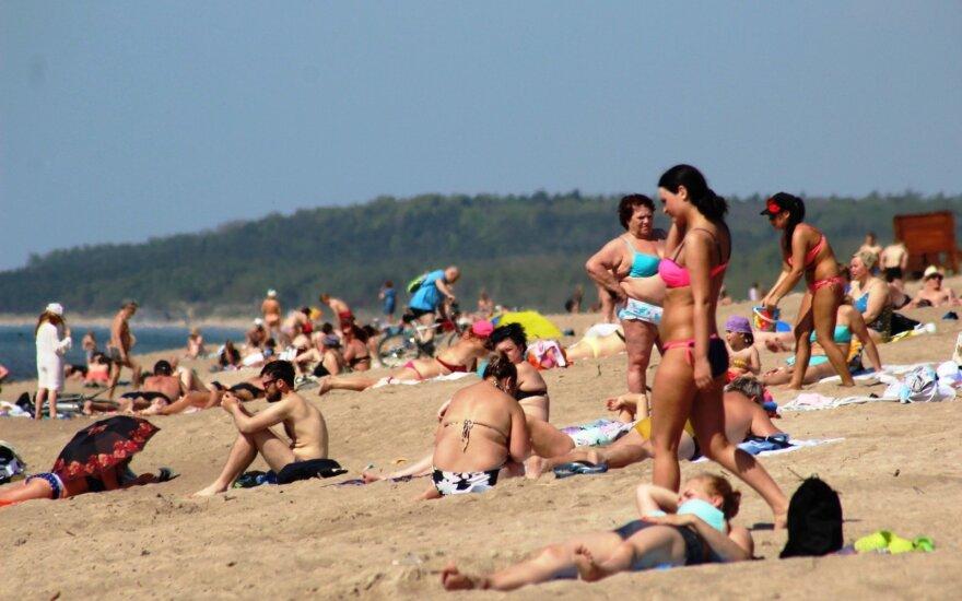 Besitikinčių greitai patekti į pliažus lauks nemalonūs siurprizai