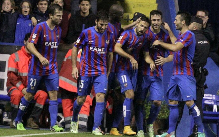 """""""Levante"""" futbolininkai"""