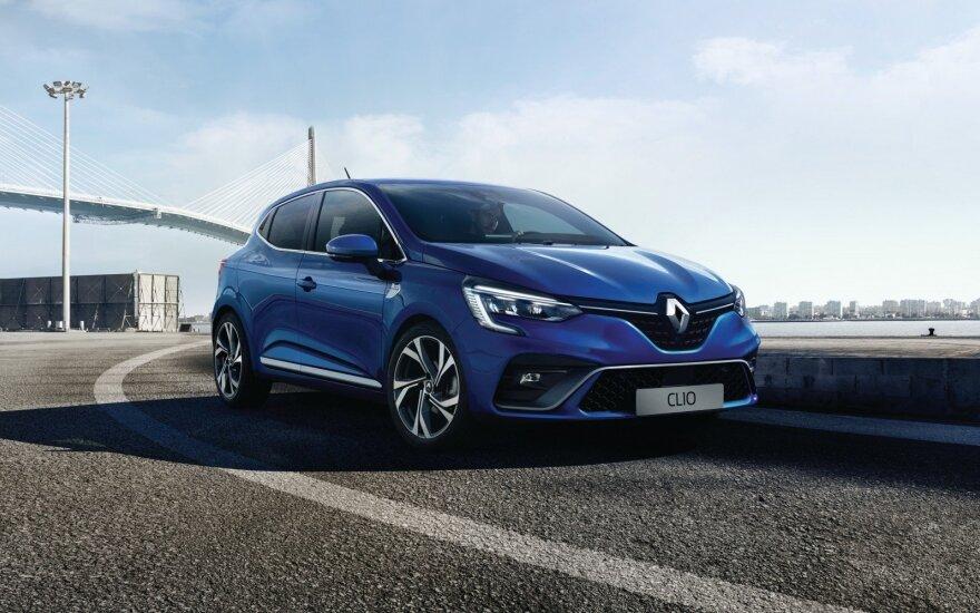 """Naujas """"Renault Clio"""""""