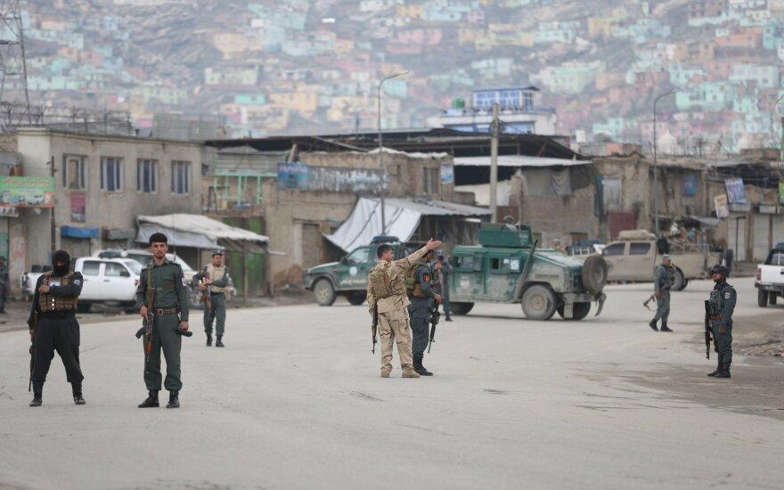 Per ataką sikhų maldos namuose Kabule žuvo mažiausiai 25 žmonės