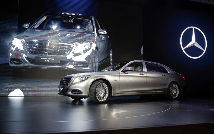 """Mercedes Maybach S-Class"""