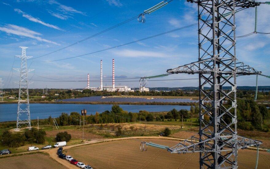 Rekonstruota elektros linija nuo Elektrėnų iki Vilniaus