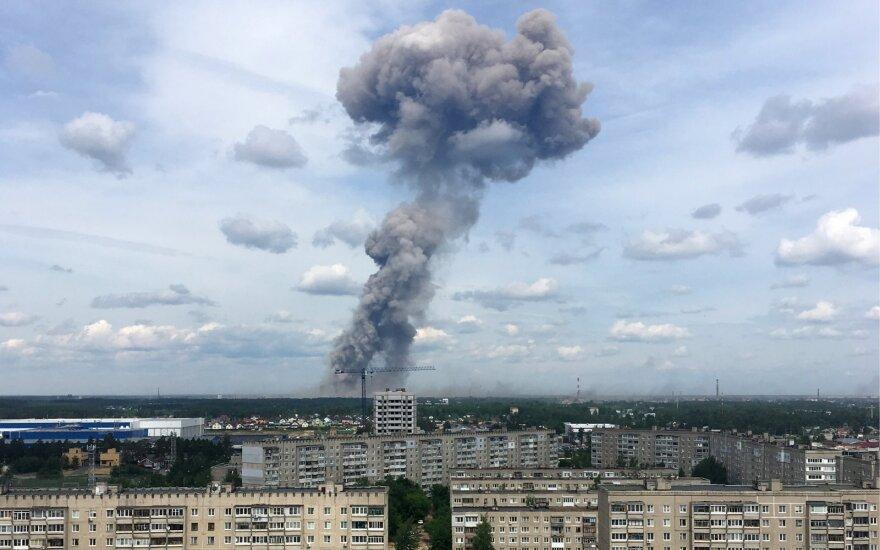 Po paslaptingų sprogimų prabilo ir Putinas: pavojaus nėra, tačiau priemonių imamasi