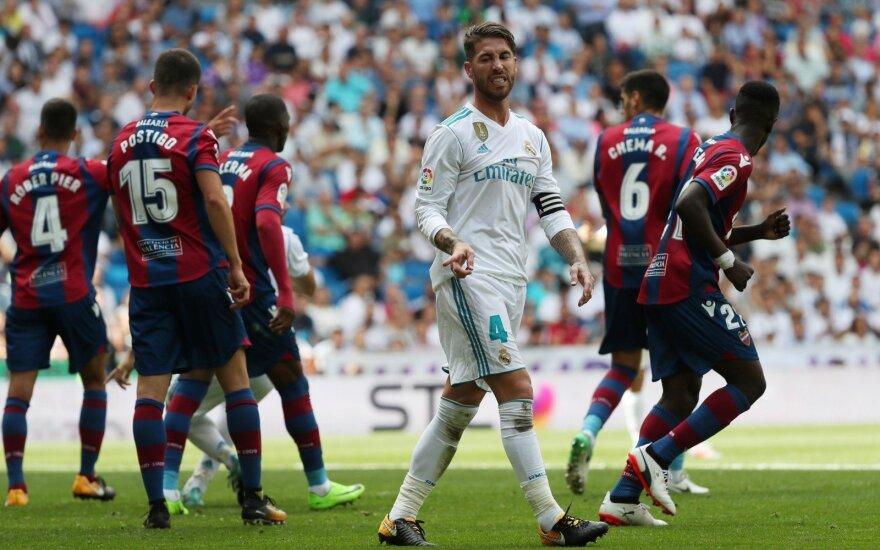 Nusivylęs Sergio Ramosas