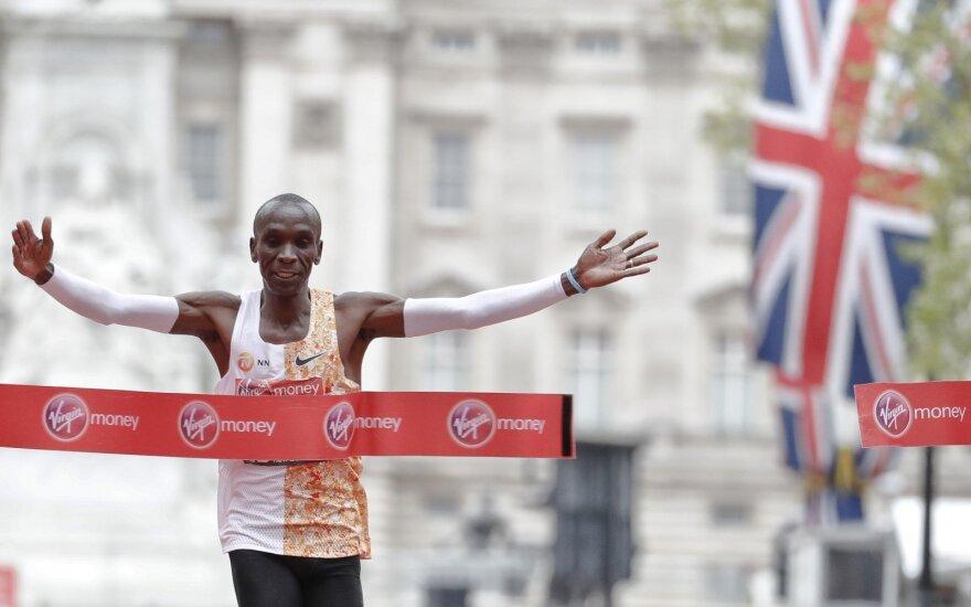 Londono maratonas, Eliudas Kipchoge